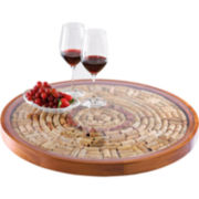 Wine Cork Lazy Susan