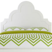 Happy Chic by Jonathan Adler Crescent Heights Lacquer Headboard
