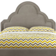 Happy Chic by Jonathan Adler Crescent Heights Velvet Upholstered Headboard