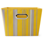 Michael Graves Design Printed Storage Bin - Yellow