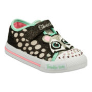 Skechers® Twinkle Toes Shuffles Critter Buds  Girls Sneakers - Toddler