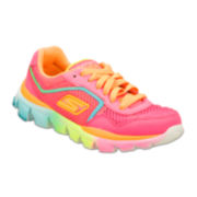 Skechers® Go Run Girls Sneakers - Little Kids