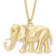 Decree® Elephant Pendant Necklace