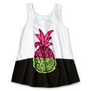 Total Girl® Graphic Tank Top - Girls 6-16 and Plus
