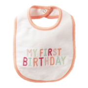 Carter's® My First Birthday Bib