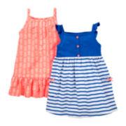 Carter's® Pineapple 2-pk. Dresses - Girls newborn-24m