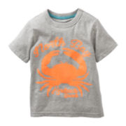 Carter's® Short-Sleeve Crab Graphic Tee - Boys 2t-4t