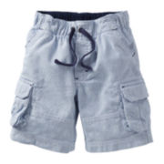 Carter's® Striped Woven Cargo Shorts - Boys 2t-4t
