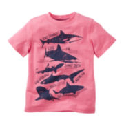 Carter's® Shark Tee - Boys 2t-4t