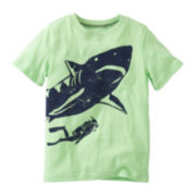 Carter's® Short-Sleeve Shark Graphic Tee - Boys 2t-4t