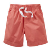 Carter's® Solid Poplin Shorts - Boys 5-7