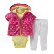 Carter's® Bicycle 3-pc. Jacket Set - Girls newborn-24m