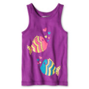 Arizona Graphic Tank Top - Girls 12m-6y