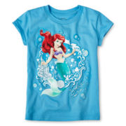 Disney Ariel Graphic Tee - Girls 2-12
