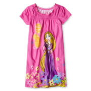 Disney Collection Rapunzel Nightshirt - Girls 2-10