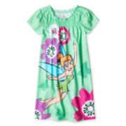 Disney Tinker Bell Nightshirt - Girls 2-10
