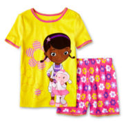 Disney Collection Doc McStuffins 2-pc. Pajamas - Girls 2-10