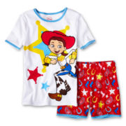 Disney Collection Jessie 2-pc. Pajamas - Girls 2-10