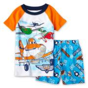 Disney Planes 2-pc. Pajama Set - Boys 2-10