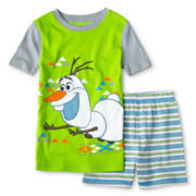 Disney Frozen Olaf 2-pc. Pajama Set - Boys 2-10