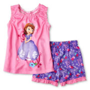 Disney Collection Sofia 2-pc. Pajamas - Girls 2-10
