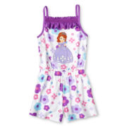 Disney Sofia Romper - Girls 2-10