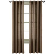 MarthaWindow™ Capri Twill Grommet-Top Curtain Panel