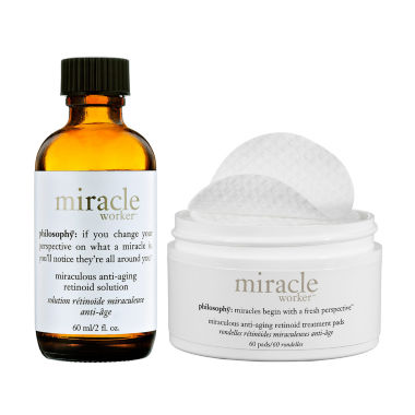 jcpenney.com | philosophy Miracle Worker Miraculous Anti-Aging Retinoid Pads And Solution