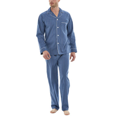 jcpenney.com | Stafford® Broadcloth Pajama Set - Big & Tall
