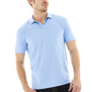 Van Heusen® Short-Sleeve Micropoly Polo
