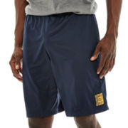 Reebok® Embossed Poly Shorts