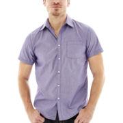 JF J. Ferrar® Short-Sleeve Woven Shirt