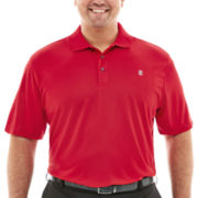 IZOD® Golf Short-Sleeve Grid Piqué Polo–Big & Tall