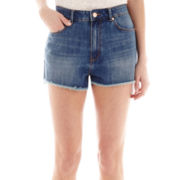 MNG by Mango® High-Waist Denim Shorts