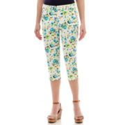 St. John's Bay® Secretly Slender Cropped Pants