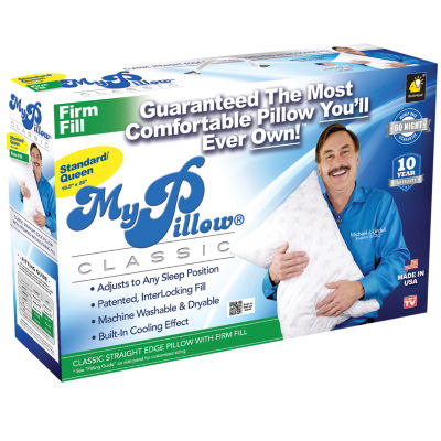 from pillows seen beyond bed bath medium on mypillow pillow buy tv as king fill