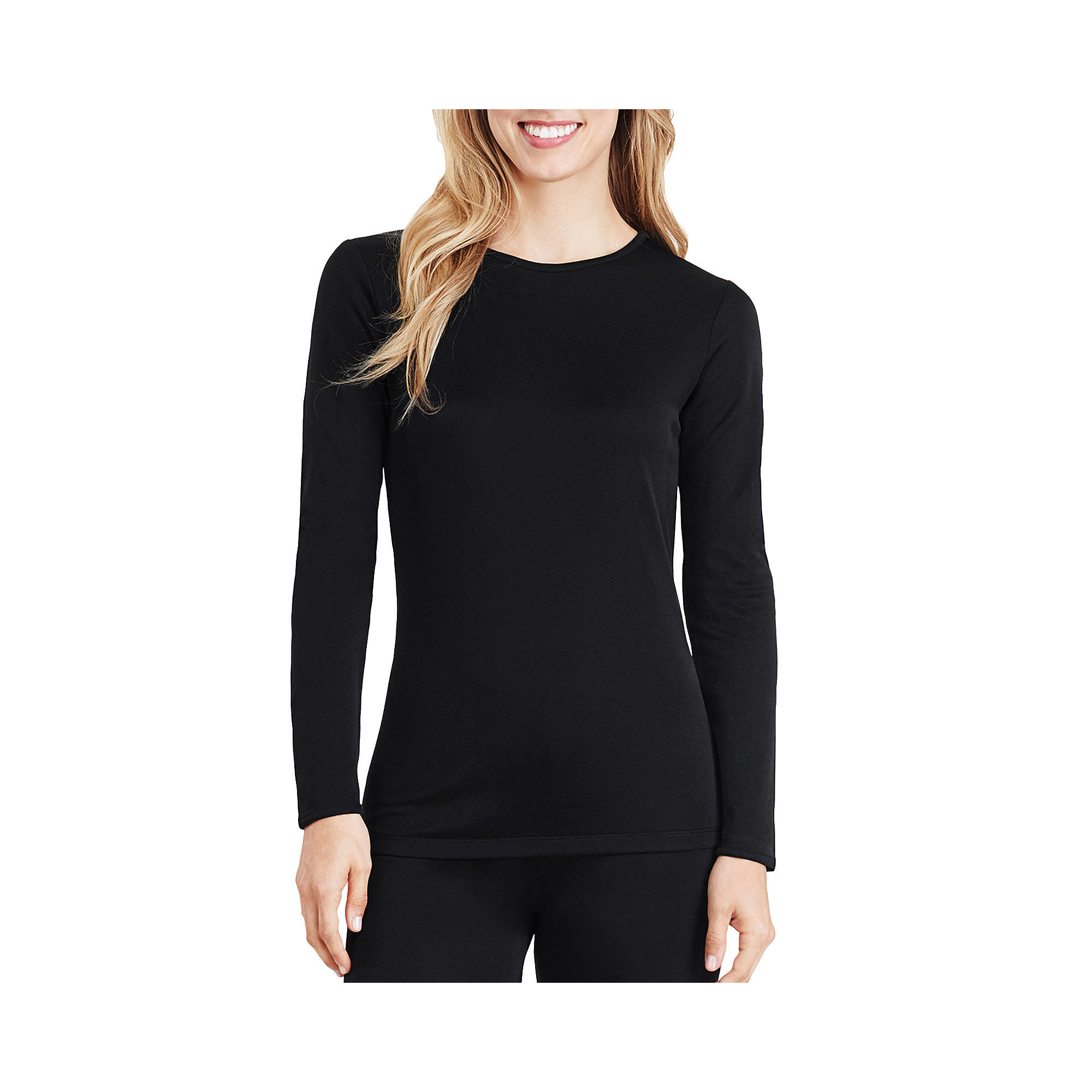 Cuddl Duds Thermal Shirt-Plus plus size,  plus size fashion plus size appare