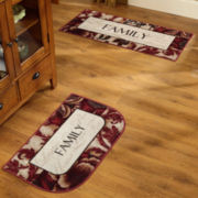 Sentiments Washable Kitchen Rugs
