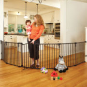 North States™ 3-in-1 Arched Décor Superyard Play Yard