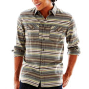 Vans® Long-Sleeve Striped Woven Shirt