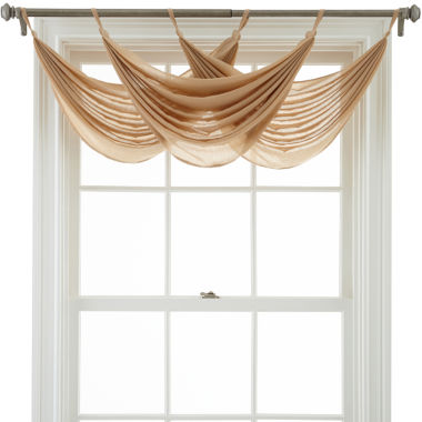 jcpenney.com | MarthaWindow™ Flutter Tab-Top Waterfall Valance