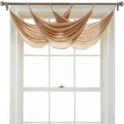 MarthaWindow™ Flutter Tab-Top Waterfall Valance