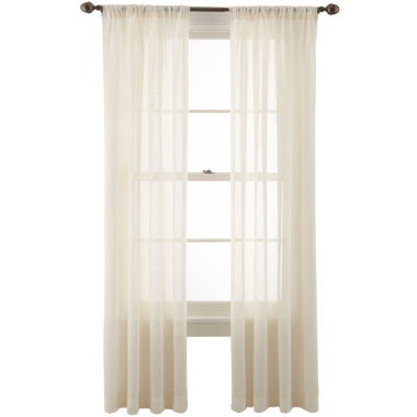 jcpenney.com | MarthaWindow™ Promenade Rod-Pocket Curtain Panel