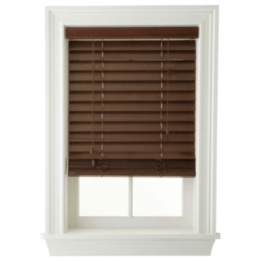 "jcpenney.com | JCPenney Home™ 2"" Wood Blinds"