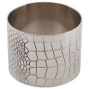 Godinger Silver Croc Set of 4 Napkin Rings