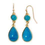 Liz Claiborne® Blown Away by Blue Earrings