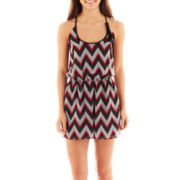Heart & Soul® Pleated Racerback Romper