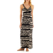 a.n.a® Braided Halter Maxi Dress