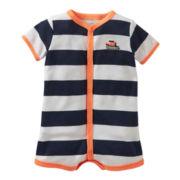 Carter's® Striped Boat Creeper - Boys newborn-24m