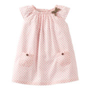 Carter's® Coral Print Dress - Girls newborn-24m